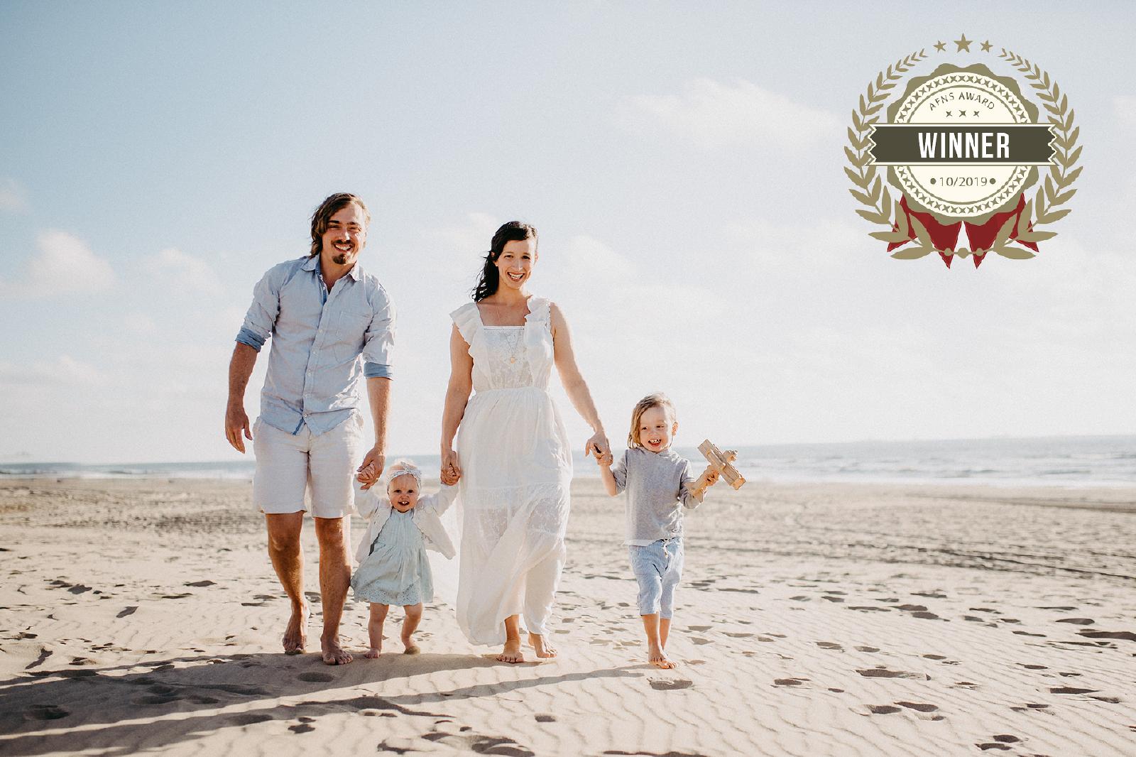 familie-strand-zee-zomer winner foto Award