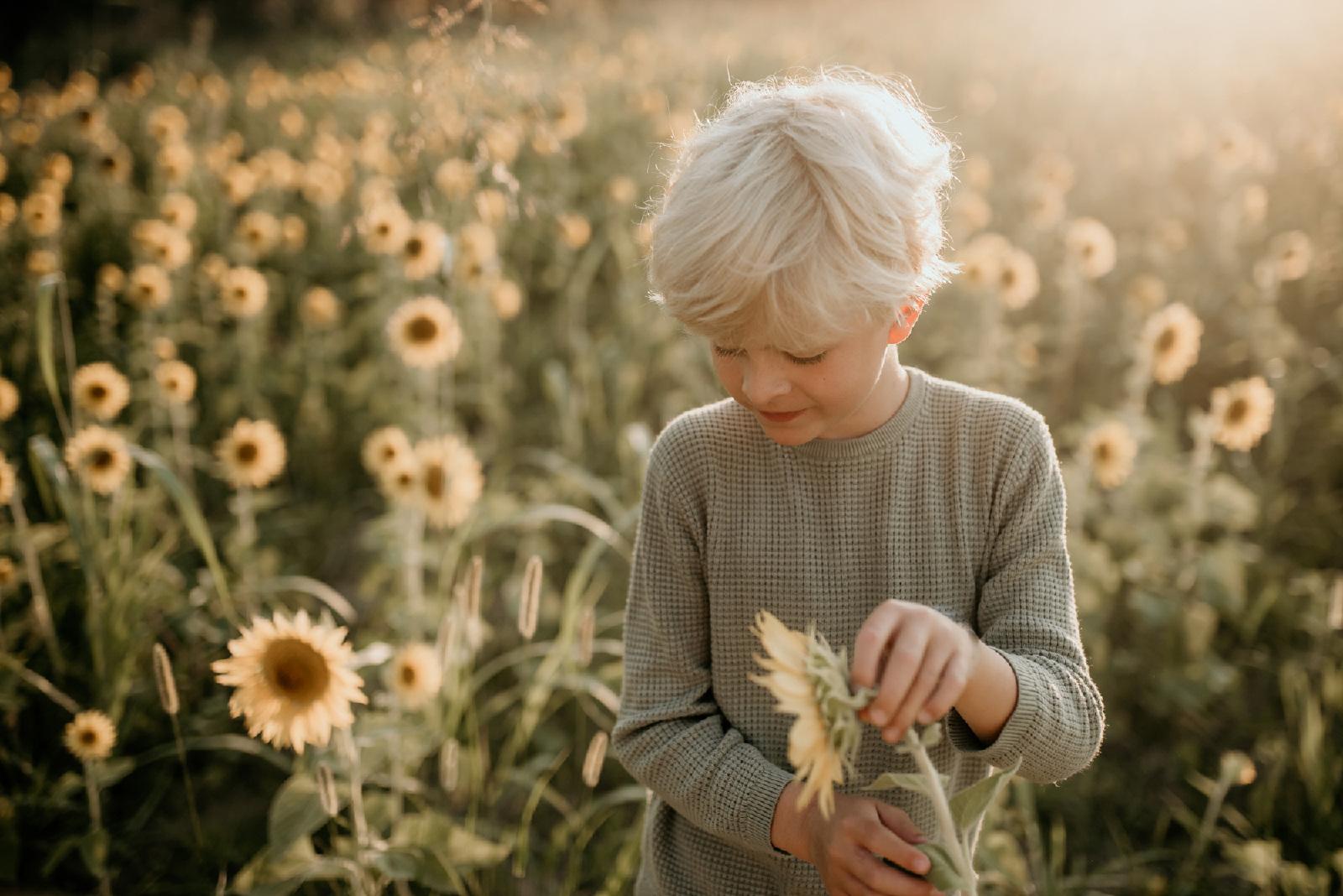 kind fotografie Hengelo buiten zomer